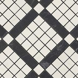 Marvel PRO Cremo Delicato Mix Diagonal Mosaic | Ceramic mosaics | Atlas Concorde