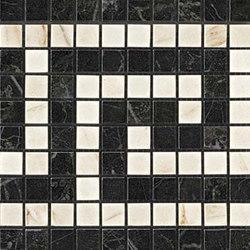 Marvel PRO Noir/Cremo Greca Mosaico | Mosaïques | Atlas Concorde