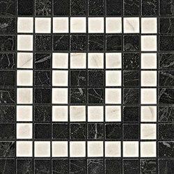 Marvel PRO Noir/Cremo Angolo Mosaico | Mosaicos de cerámica | Atlas Concorde