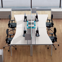T-Workstation | Desking systems | Bene