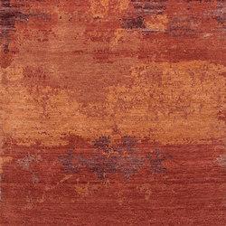 Grunge red robin | Rugs | THIBAULT VAN RENNE