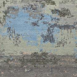 Grunge sea blue | Rugs | THIBAULT VAN RENNE