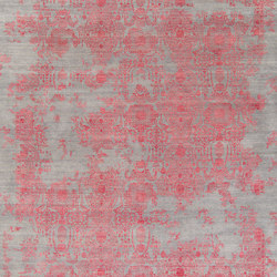 Inspirations T3 grey & red | Rugs | THIBAULT VAN RENNE