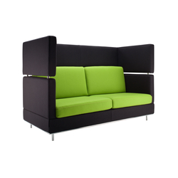 Inkoo Pro High | 2½ person sofa | Sedute lounge da lavoro | Isku