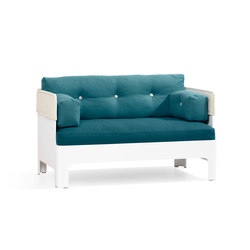 Koja Sofa Low S53L | Loungesofas | Blå Station