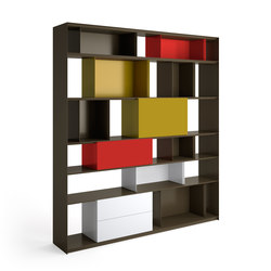 Stack Shelfsystem | Office shelving systems | Müller Möbelfabrikation