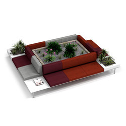 Longo | Lounge-Arbeits-Sitzmöbel | actiu