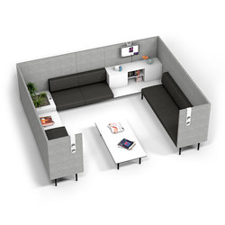 Longo | Lounge sièges de travail | actiu