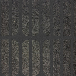 Ecoustic Panel Meta Black On Charcoal | Paneles de pared | complexma