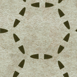 Ecoustic Panel Disc Moss On Natural | Wall panels | complexma