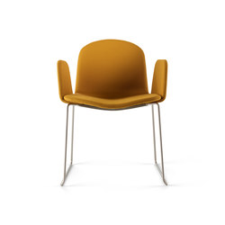 Bob XL Skid Chair with Armrests | Chairs | ONDARRETA