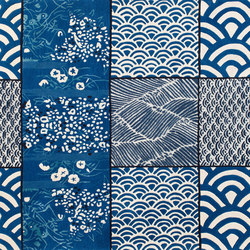 Osaka Bleu | Rugs / Designer rugs | Toulemonde Bochart