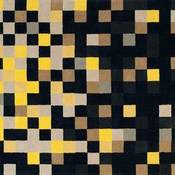 Squares Jaune | Alfombras / Alfombras de diseño | Toulemonde Bochart