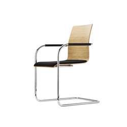 S 53 | Visitors chairs / Side chairs | Thonet
