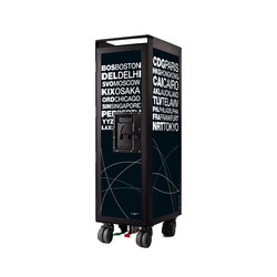 bordbar black edition airports black | Teewagen / Barwagen | bordbar