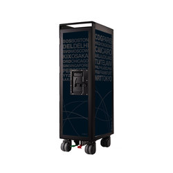 bordbar black edition airports dark grey | Trolleys | bordbar