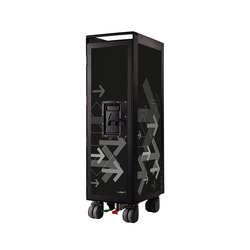 bordbar black edition arrows black | Tea-trolleys / Bar-trolleys | bordbar