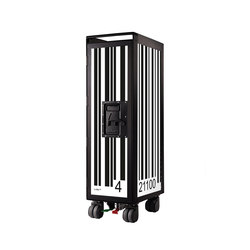 bordbar black edition barcode black | Carrelli | bordbar