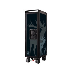 bordbar black edition deer black | Carrelli portavivande / carrelli bar | bordbar