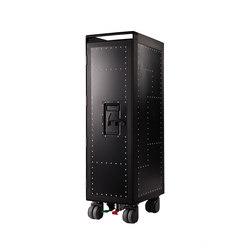 bordbar black edition rivet rocker black | Tea-trolleys / Bar-trolleys | bordbar