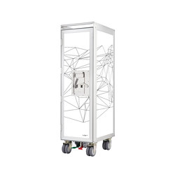 bordbar new network white black lines front | Tea-trolleys / Bar-trolleys | bordbar