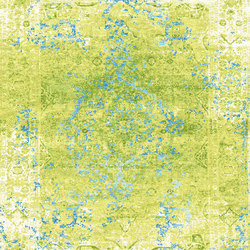 Kashan Revived green & blue | Rugs | THIBAULT VAN RENNE