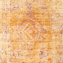 Kashan Revived copper & purple | Rugs / Designer rugs | THIBAULT VAN RENNE