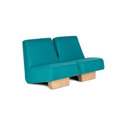 Siamese 2p | Lounge sofas | Lensvelt