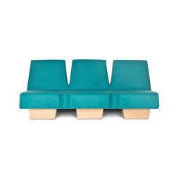 Siamese 3p | Lounge sofas | Lensvelt