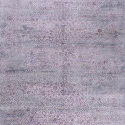 Kork Reintegrated grey & purple | Rugs / Designer rugs | THIBAULT VAN RENNE