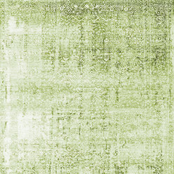 Kork Wiped green & blue | Rugs / Designer rugs | THIBAULT VAN RENNE