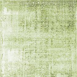 Kork Wiped green & blue | Formatteppiche / Designerteppiche | THIBAULT VAN RENNE