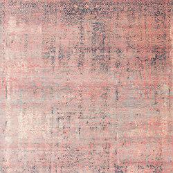 Kork Wiped grey & pink | Formatteppiche / Designerteppiche | THIBAULT VAN RENNE
