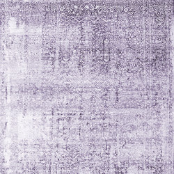 Kork Wiped purple | Rugs / Designer rugs | THIBAULT VAN RENNE