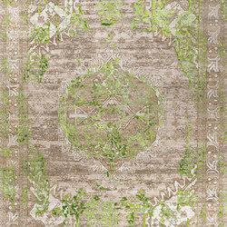Mystique green | Formatteppiche | THIBAULT VAN RENNE