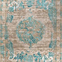 Mystique turquoise | Formatteppiche | THIBAULT VAN RENNE