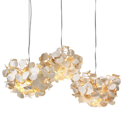 Leaf Lamp Pendant 130 cluster | Pendelleuchten | Green Furniture Concept