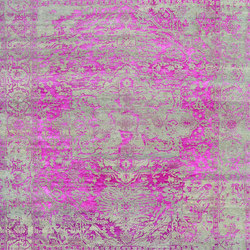 Kashmir Blazed pink 4840 | Formatteppiche | THIBAULT VAN RENNE