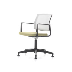 Trea Fixed With Armrest | Visitors chairs / Side chairs | Nurus