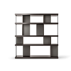 Jobs Bookcase | Shelving | Poltrona Frau