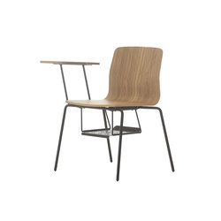Eon Wooden With Writing Pad | Chaises polyvalentes | Nurus