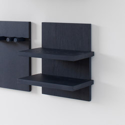 Wall Shelf double | Shelving | STATTMANN NEUE MOEBEL
