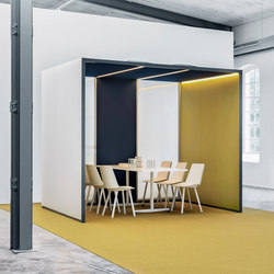 CAS Rooms | Space dividers | Carpet Concept