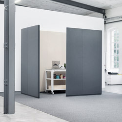 CAS Rooms | Cabinas de oficina | Carpet Concept