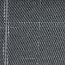 Sunbrella Checks f021 James Grey | Stoffbezüge | Design2Chill