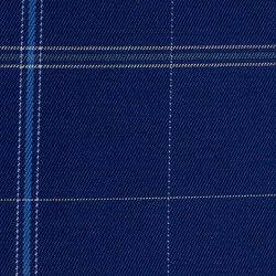 Sunbrella Checks f022 James Blue | Stoffbezüge | Design2Chill