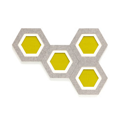 Acoustic element Comb | Sound absorbing wall art | HEY-SIGN