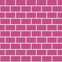 Artwork Brick Magenta | AR6060BM | Carrelage pour sol | Ornamenta