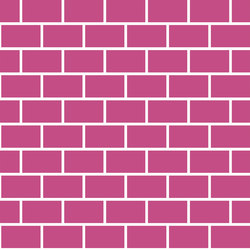 Artwork Brick Magenta | AR6060BM | Bodenfliesen | Ornamenta