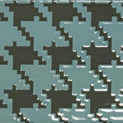 Quindicidecimi I-O Army Green Pied de poule | IO1510AGP | Carrelage pour sol | Ornamenta